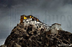 GOLDEN TOP MONASTERY by Ajoy Krishna