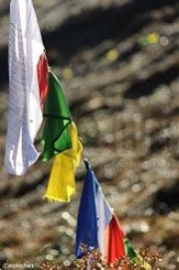 THE PRAYER FLAG by Abhishek Singh
