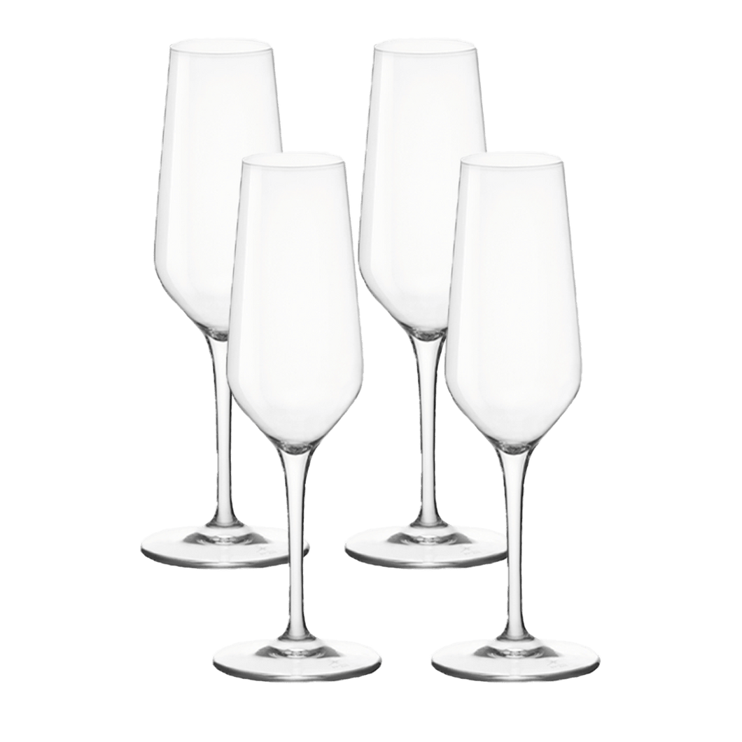 4 x Champagne Flutes