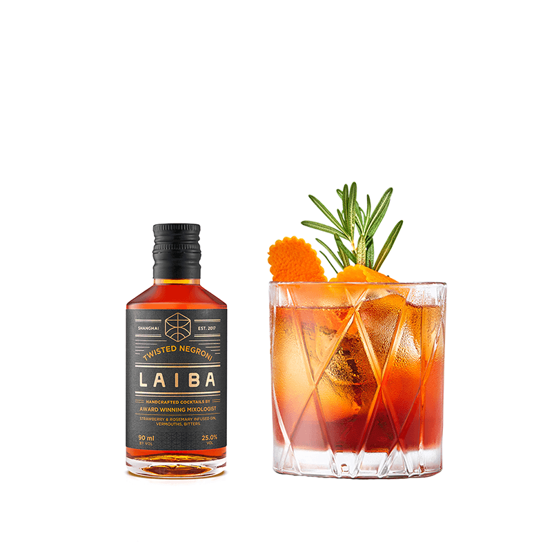 LAIBA Twisted Negroni