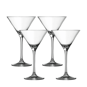 4 Martini Glasses