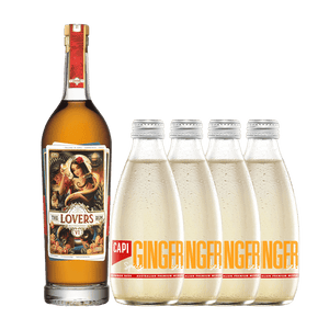 Dark & Stormy Set | The Lovers Rum & CAPI Spicy Ginger Beer