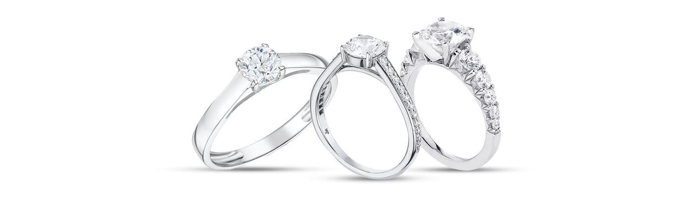 Shop Contemporary Engagement Rings