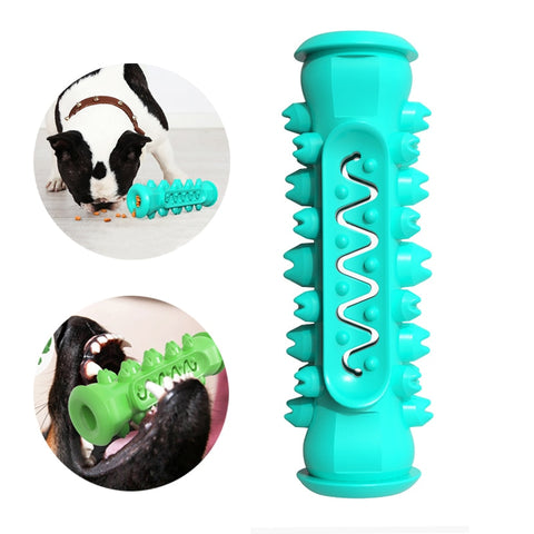 Dog Tooth Brush Sticker Chew Toys Pet Molar Tooth Cleaner Dental Care Toy T7
