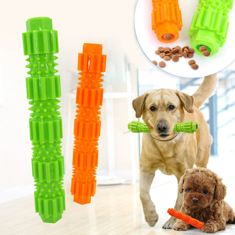 Dog Chew Rubber Toy-Tooth Brush-Food Dispenser T7