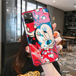 Fashion Blue Ray for iPhone 11 Pro Case Cute Cartoon Minnie Soft Silicone Funda for iPhone 7 8 6 S Plus X XR Xs Max Case T7