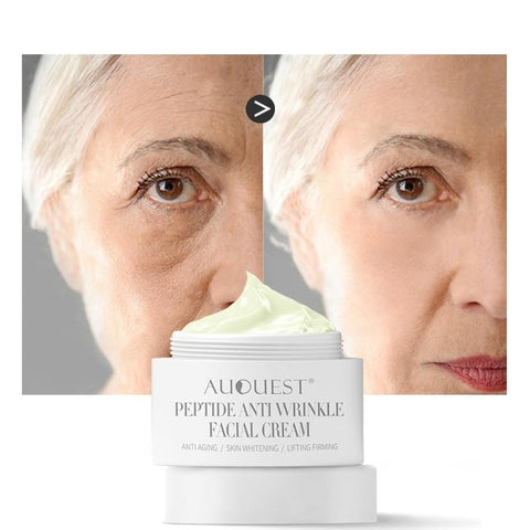 Peptides Face Cream 30g Skin Moisturizing Anti-wrinkle Aging Cream for Firming & Lifting Skin Repair Facial Care T7