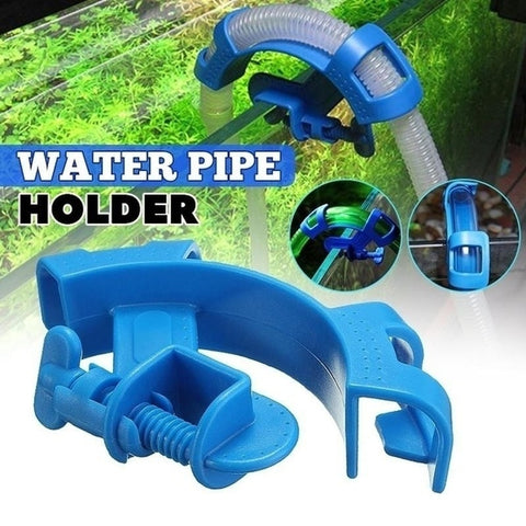 Aquarium Filtration Holder Water Pipe Filter for Mount Tube Fish Tank T7
