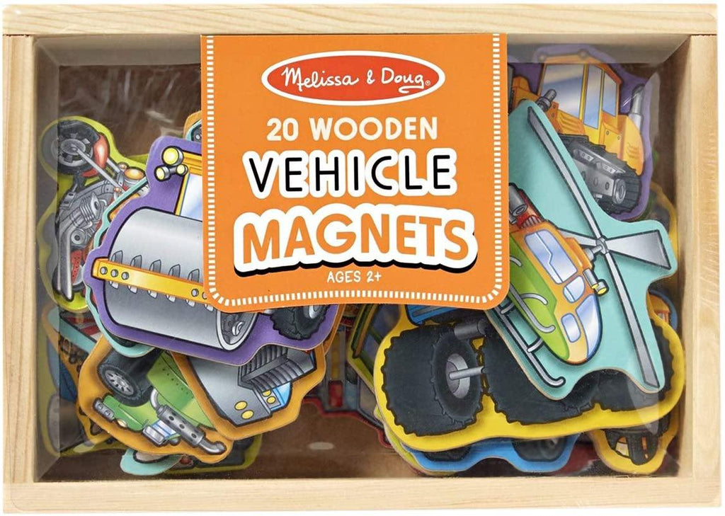 Melissa and Doug Wooden Vehicle Magnets - The mammy's