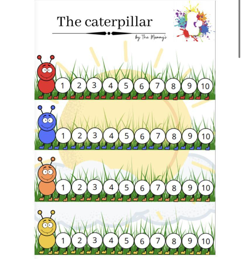 The caterpillar - The mammy's