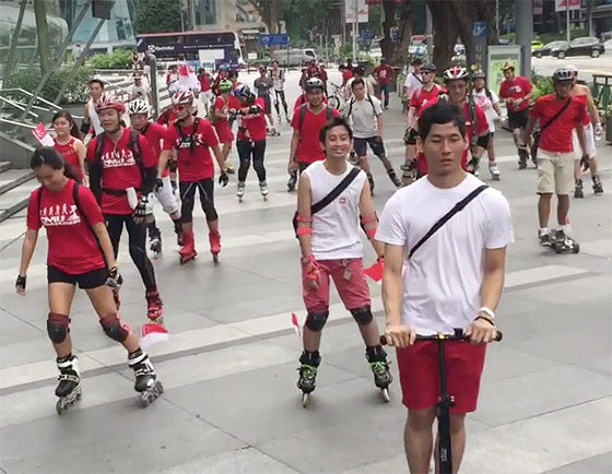 Skateline SG51 Rolling Marathon on 6 Aug 2016