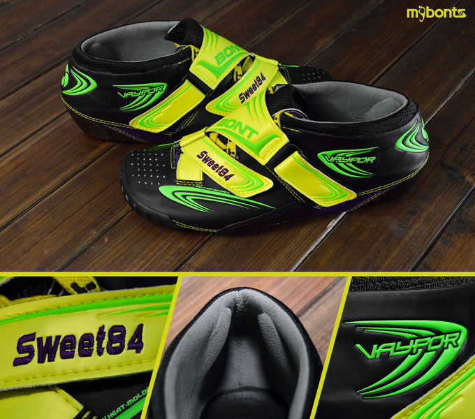 bont speed boots customized color
