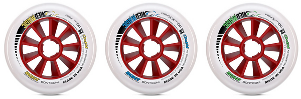 Bont Red Magic Wheels