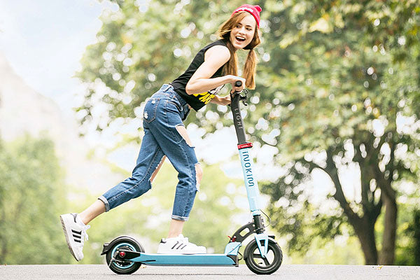 test ride electric scooter at the convenience of your own home, only from Skateline