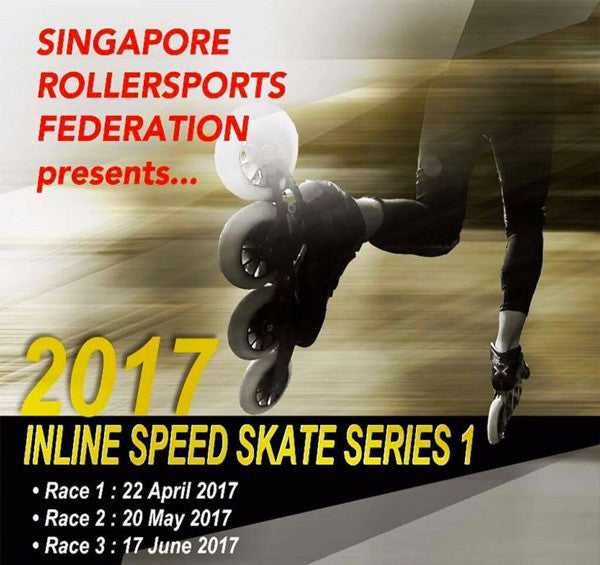 Inline Speed Skates Series 1 (Race 1)
