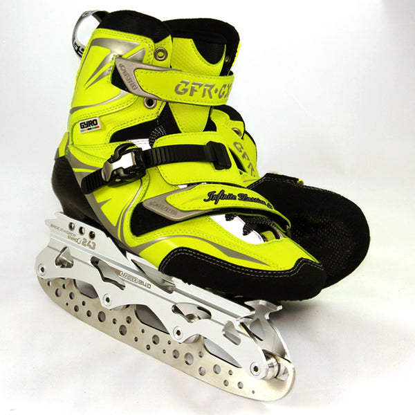 Transformer Ice Blades that fit into inline skates