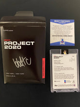 "Load image into Gallery viewer, 1 OF 21 ""BBDTC"" ROBERTO CLEMENTE TOPPS PROJECT 2020 AUTOGRAPHED CARD IN SILVER INK"