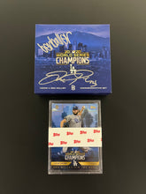 Load image into Gallery viewer, BEN BALLER X JOC PEDERSON SILVER AUTOGRAPHED 1/31 LOS ANGELES DODGERS 2020 WORLD SERIES CHAMPIONS TOPPS SET!