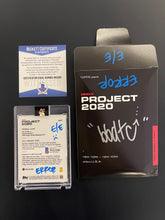 "Load image into Gallery viewer, TOPPS PROJECT 2020 BEN BALLER AUTOGRAPHED KEN GRIFFEY JR. ""BBDTC"" ERROR CARD"