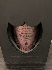 DOM PERIGNON VINTAGE ROSE 2000 SHIELD BOX LIMITED EDITION. LOS ANGELES PICK UP ONLY!