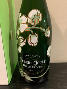 2007 PERRIER JOUET CHAMPAGNE W/ BOX. LOS ANGELES PICK UP ONLY!