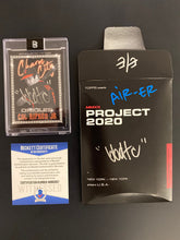 Load image into Gallery viewer, TOPPS PROJECT 2020 BEN BALLER AUTOGRAPHED CAL RIPKEN JR. ERROR CARD