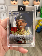 "Load image into Gallery viewer, 1 OF 10 MARIANO RIVERA ""BEN BALLER"" TOPPS PROJECT 2020 AUTOGRAPHED CARD IN GOLD INK"