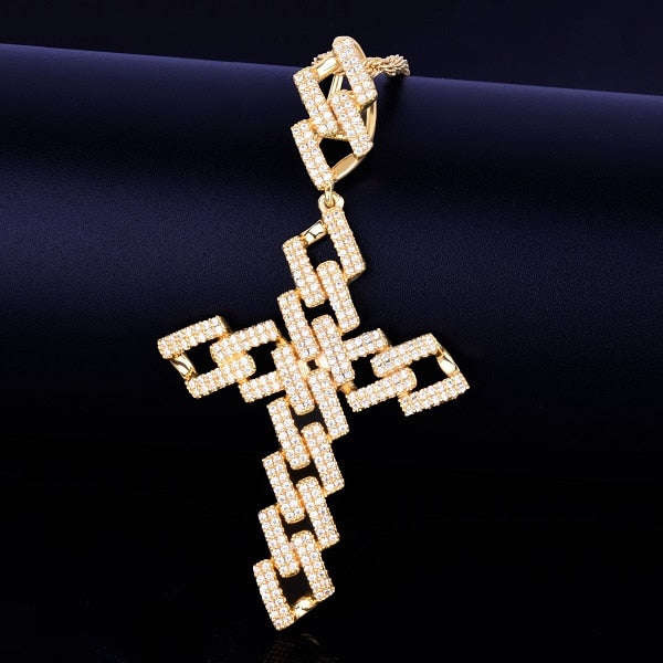 Miami Cuban Cross Links Necklace & Pendant