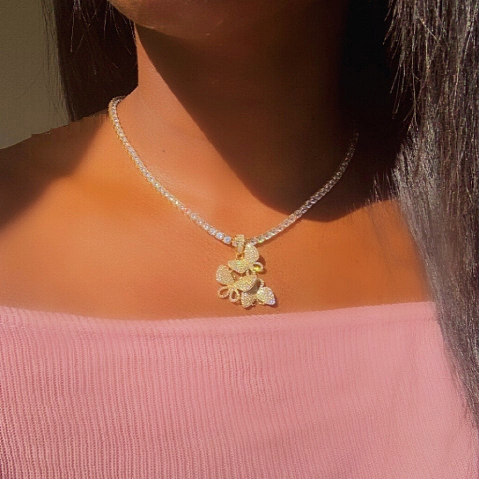 Butterfly Gang Necklace