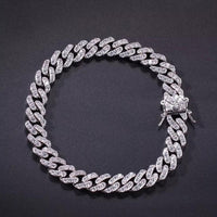 Iced Out Cuban Link Anklet