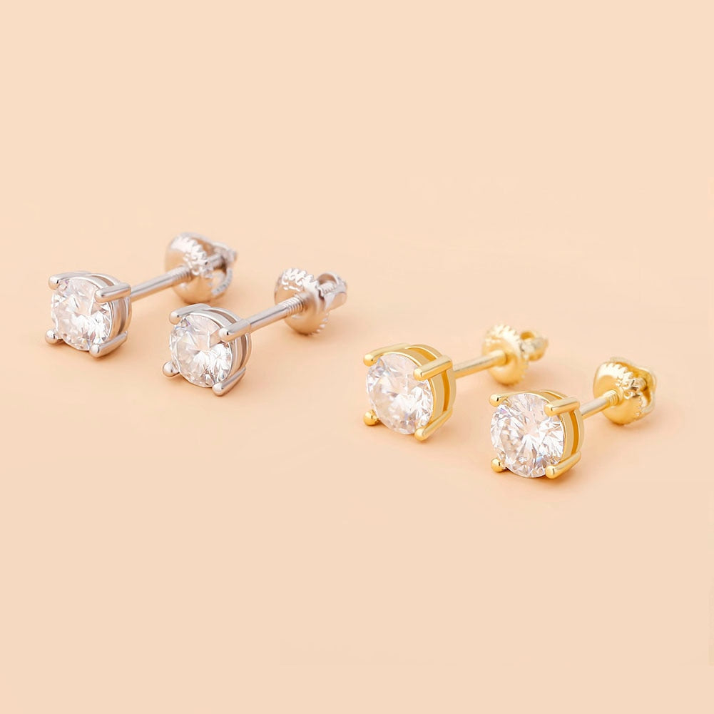 Shasha's Moissanite Earrings
