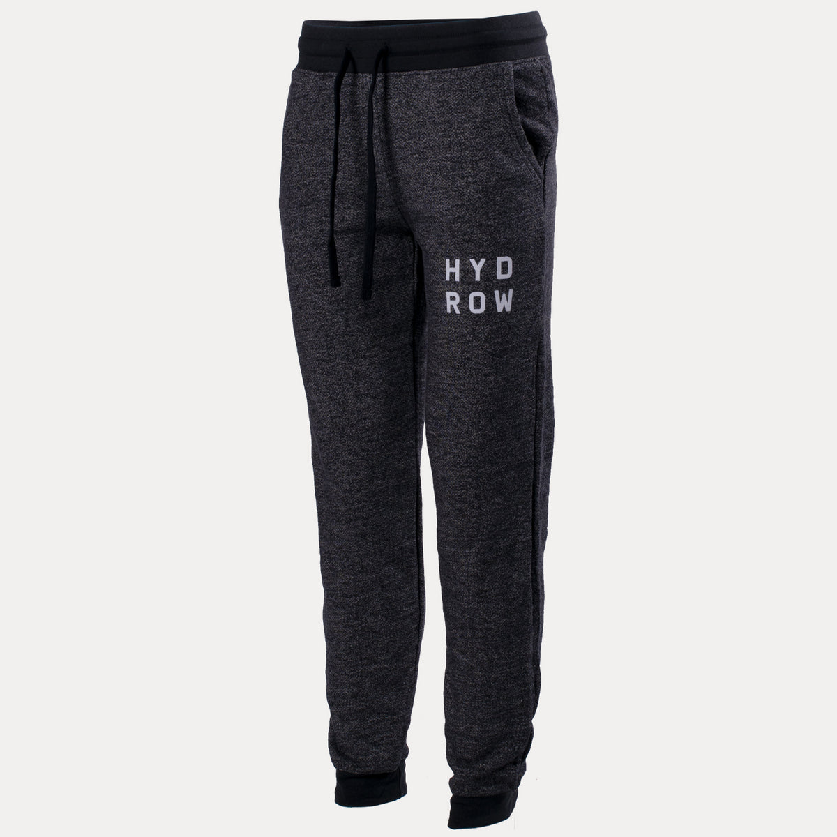 Hydrow Stacked Logo Women's Denim Fleece Jogger