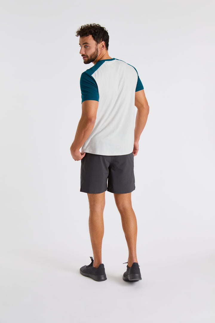 Men's Stretch Cotton Crew
