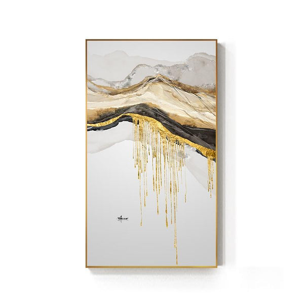 AvaBellucci™ Abstract 'Golden Sun' Canvas Print
