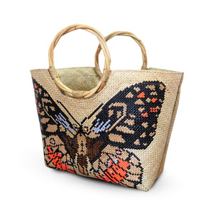 Butterfly Design Oraya Tote