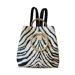 Tiger Backpack With Round Handle
