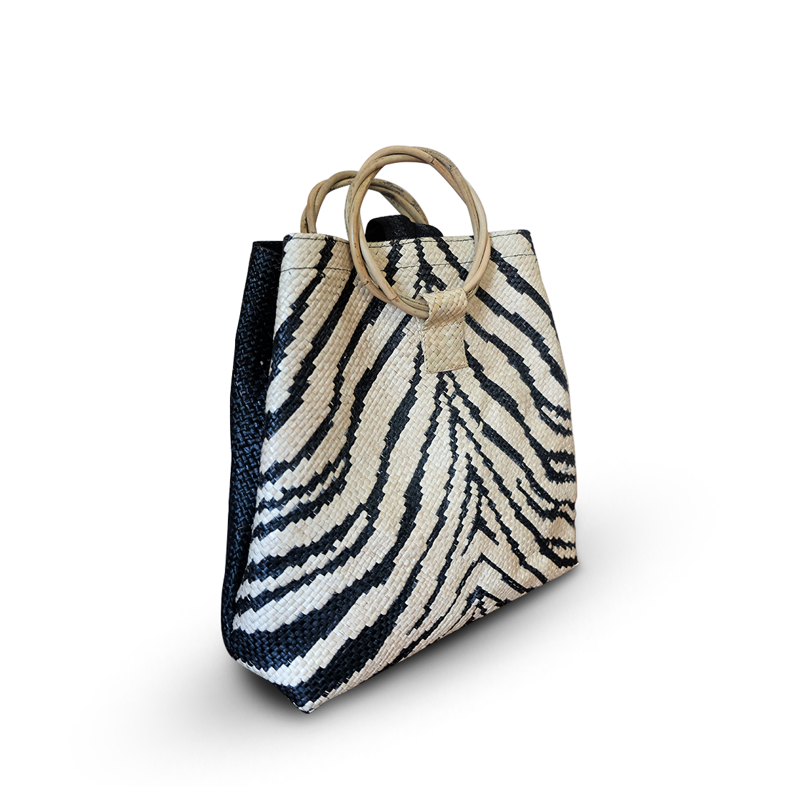 Tiger Backpack With Round Handle (No Backpack Straps)