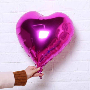 Decoration kit- Heart shaped ballons.