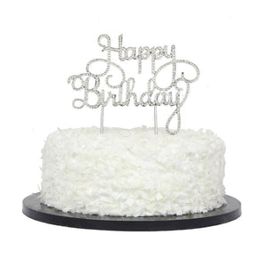Cake Topper- Happy Birthday!
