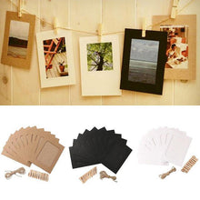 Load image into Gallery viewer, Paper Photo Frame- 10pcs