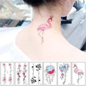 Mixed Fake Tattoo Set- 10pcs