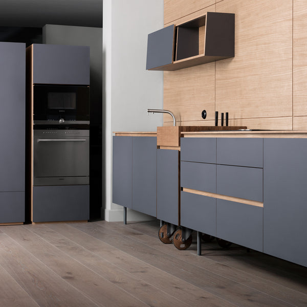 freestanding kitchen triple module