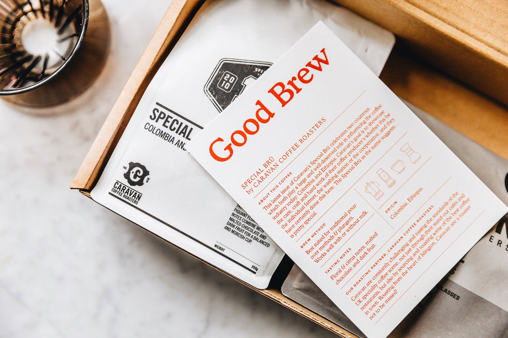 Good Brew Monthly Coffee Subscription