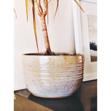 Load image into Gallery viewer, Hey Moon Stoneware Planter in Birch