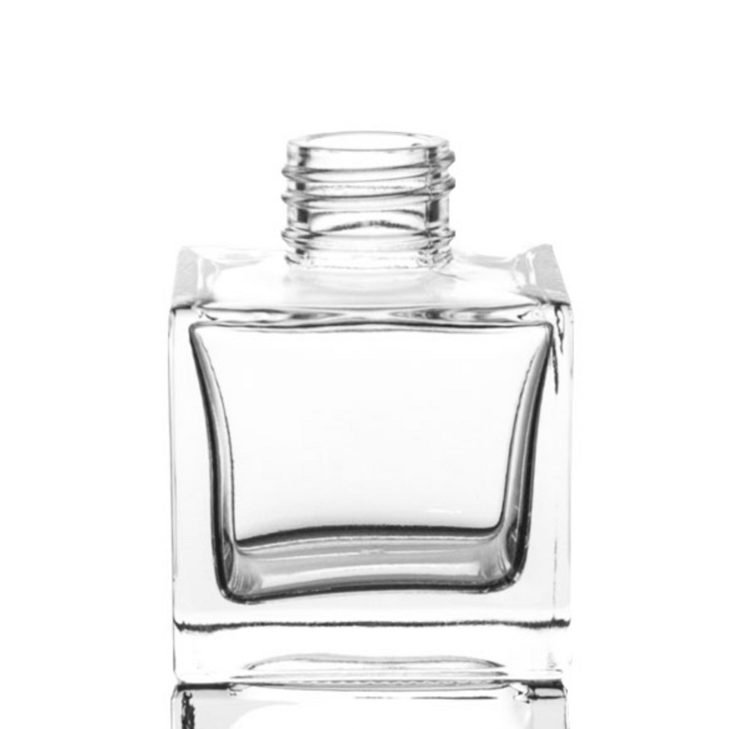 200ml Square Diffuser Glass - Box Of 48