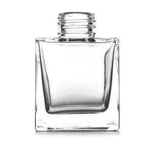 100ml Square Diffuser Glass - Box Of 48