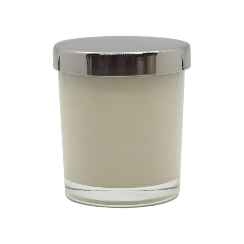 white label 9cl scented candle with lid
