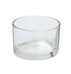 10cl travel glass candle container | whaxwholesale.com | candle making |  UK