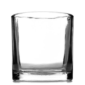 100cl Clear Glass Tank Candle Container - Box Of 12