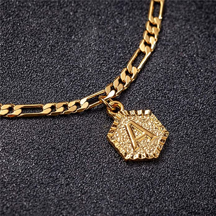 The Juno initial anklet
